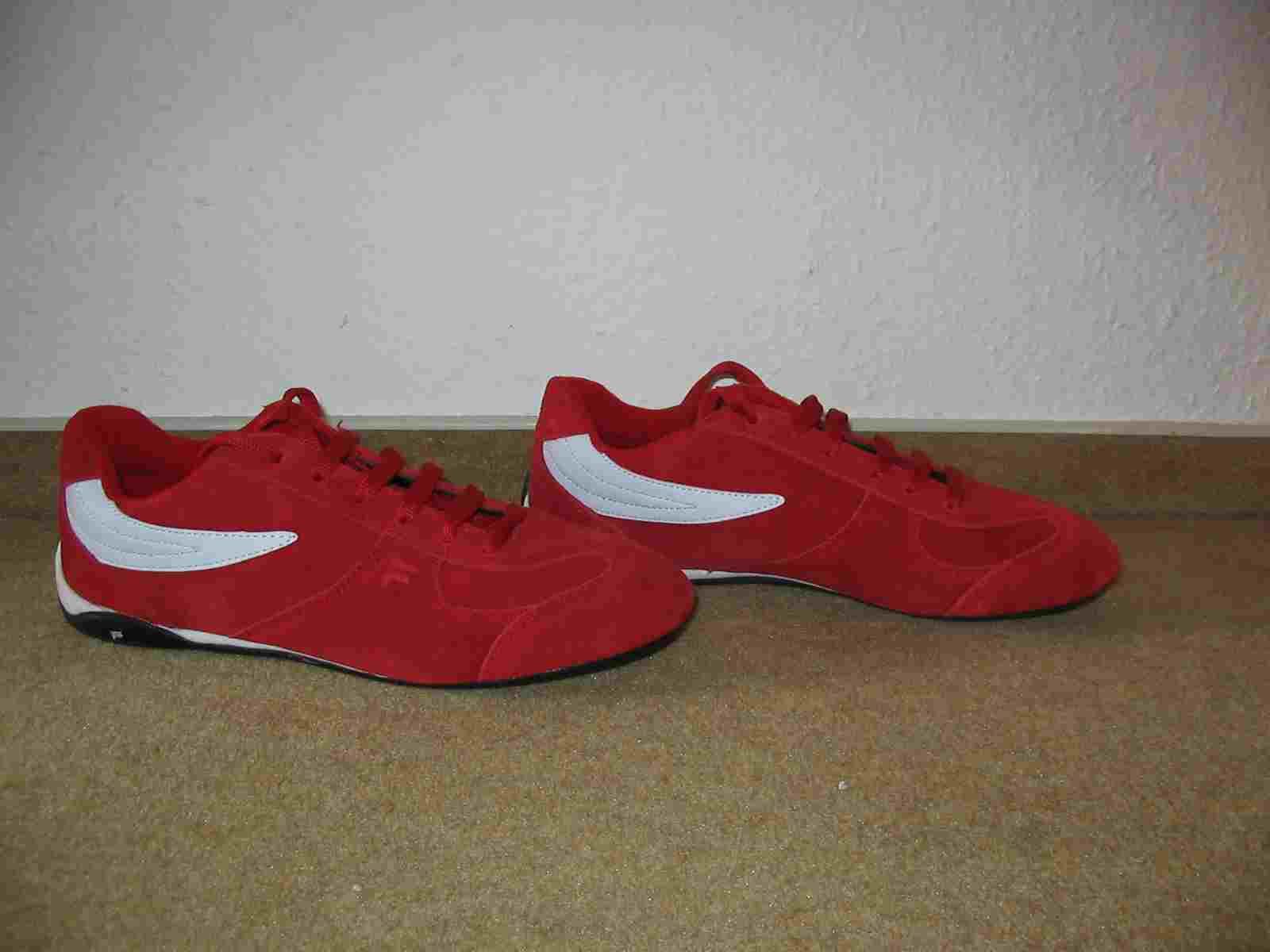 suche rote fila schuhe sneaker kleidung herrenschuhe sportschuhe 42705694. Black Bedroom Furniture Sets. Home Design Ideas
