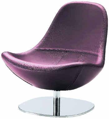 suche tirup drehsessel von ikea in lila leder m bel wohnen sofas sessel sessel. Black Bedroom Furniture Sets. Home Design Ideas