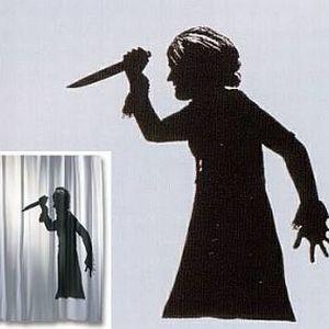 suche duschvorhang psycho m bel wohnen badezimmer duschvorh nge 4760063. Black Bedroom Furniture Sets. Home Design Ideas