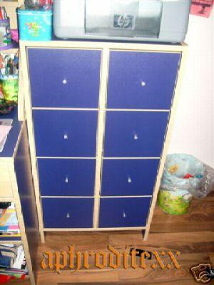 suche ikea robin kommode blau m bel wohnen schr nke vitrinen kommoden 48248157. Black Bedroom Furniture Sets. Home Design Ideas