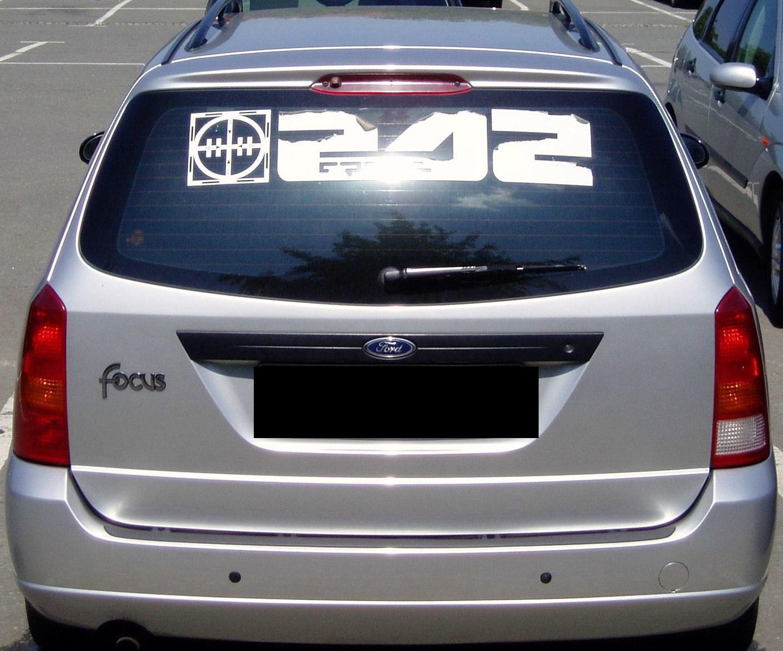 suche heckscheibenaufkleber front242 auto tuning